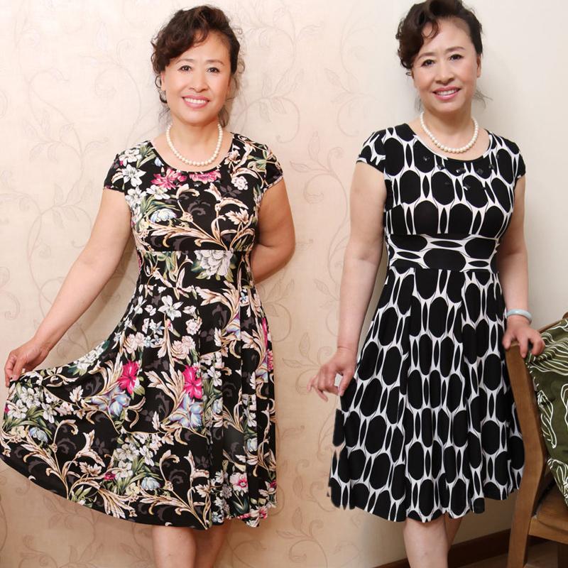 Летние платья для женщин пожилых